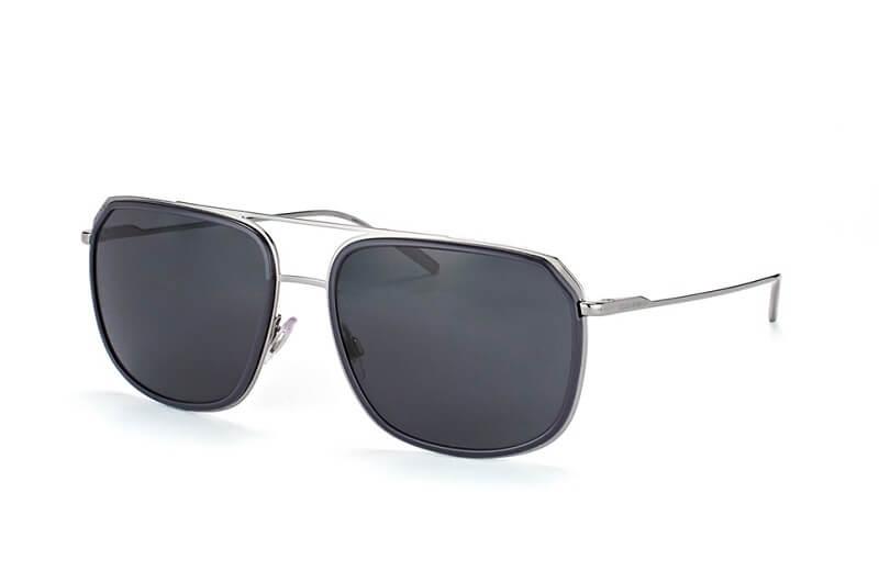 Dolce&Gabbana gunmetal solbriller