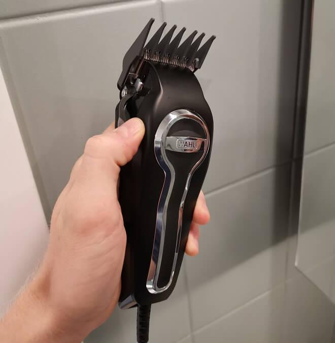 wahl profesjonell hårtrimmer