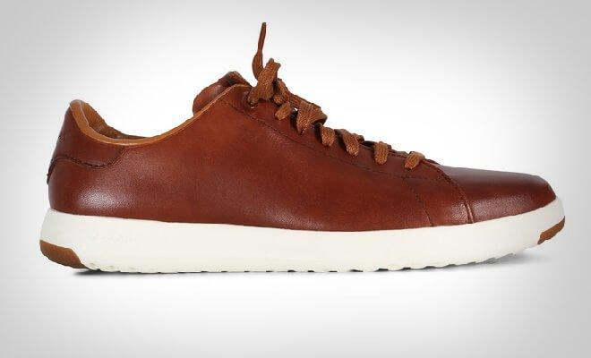 Brune sneakers herre
