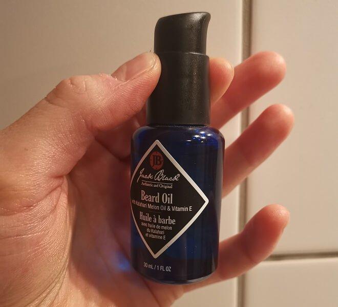 jackblack skjegg olje