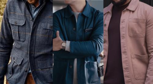 Skjortejakke herre: Tøffe overshirts året rundt